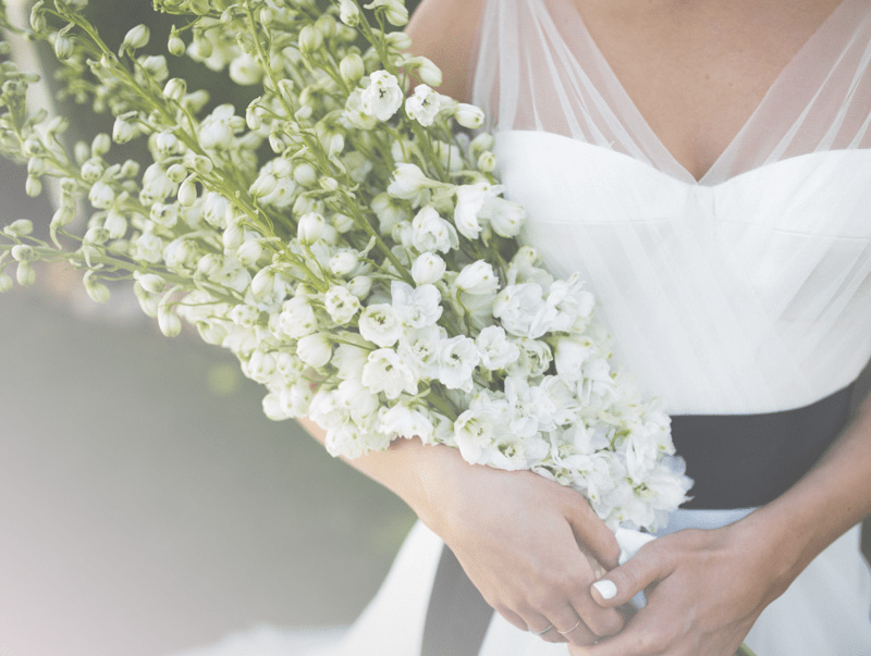 Braut bei der Hochzeit